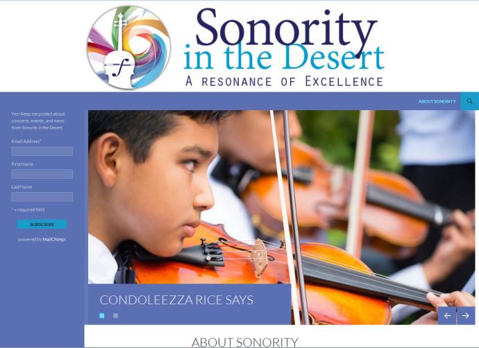Sonority in the Desert